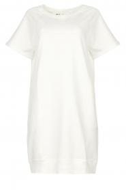 Blaumax | Sweater jurk Queens | wit  | Afbeelding 1