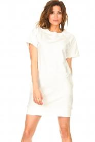 Blaumax | Sweater jurk Queens | wit  | Afbeelding 5