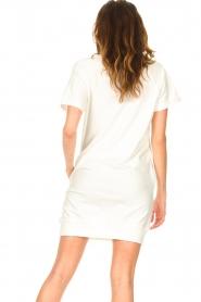 Blaumax | Sweater jurk Queens | wit  | Afbeelding 7