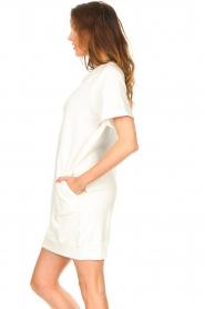 Blaumax | Sweater jurk Queens | wit  | Afbeelding 6