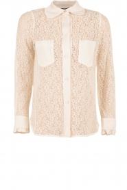 Tara Jarmon | Kanten blouse Jaela | wit  | Afbeelding 1