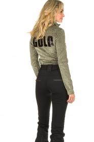 Goldbergh | Ski Pully Sparkle | gold  | Picture 6