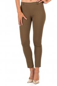 Tara Jarmon | Pantalon Maya | groen  | Afbeelding 2
