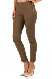 Tara Jarmon | Pantalon Maya | groen  | Afbeelding 4