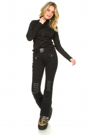 Goldbergh | Ski Pully Sparkle | black  | Picture 3