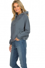 Be Pure |  Hoodie with logo on the back Sanne | blue  | Picture 4