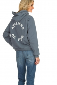 Be Pure |  Hoodie with logo on the back Sanne | blue  | Picture 5