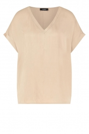 Ibana    V-neck top Tany   natural    Picture 1