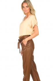 Ibana    V-neck top Tany   natural    Picture 5