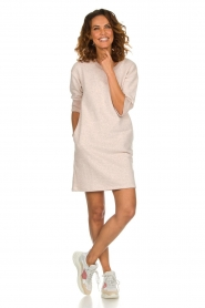 Be Pure |  Sweater dress Renske | pink  | Picture 3