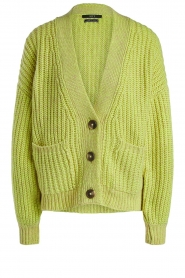 Set |  Cardigan with buttons Bejo | yellow  | Picture 1