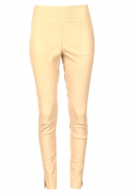 Ibana    Stretch leather pants Colette   natural    Picture 1