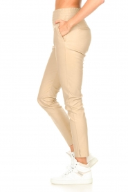 Ibana    Stretch leather pants Colette   natural    Picture 5