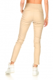 Ibana    Stretch leather pants Colette   natural    Picture 6
