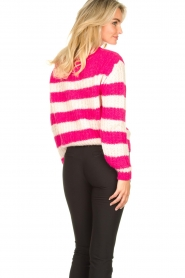 Set |  Striped knitted sweater Star | pink  | Picture 7