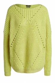 Set |  Heavy knitted sweater Bejo | yellow  | Picture 1