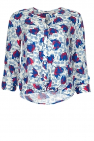 Aaiko | Blouse Geonna | Wit  | Afbeelding 1