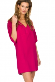 Atos Lombardini |  Dress Britte | pink  | Picture 2