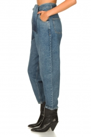 Set |  Baggy paperbag jeans Bowie | blue  | Picture 5