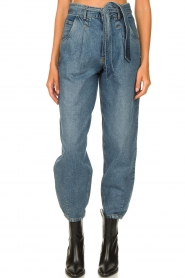 Set |  Baggy paperbag jeans Bowie | blue  | Picture 4