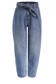 Set |  Baggy paperbag jeans Bowie | blue  | Picture 1