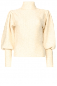 Ibana    Knitted turtle neck sweater Texa   natural    Picture 1
