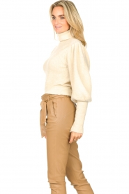 Ibana    Knitted turtle neck sweater Texa   natural    Picture 5