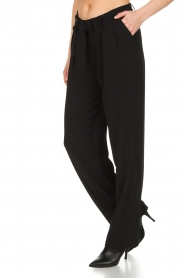 Aaiko |  Trousers Ohio | black  | Picture 4