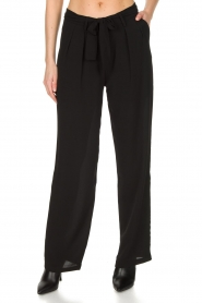 Aaiko |  Trousers Ohio | black  | Picture 2