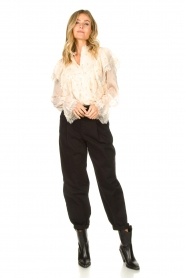 Set |  Baggy pants Gummy | black  | Picture 2