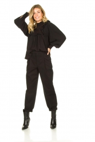 Set |  Baggy pants Gummy | black  | Picture 3