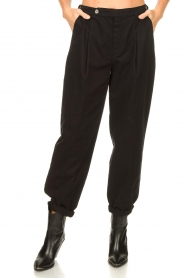 Set |  Baggy pants Gummy | black  | Picture 4