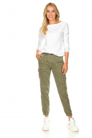 Set |  Cargo pants Bomba | green  | Picture 3