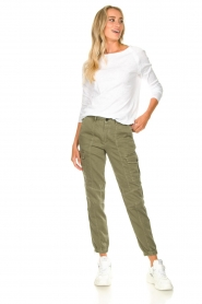 Set |  Cargo pants Bomba | green  | Picture 2