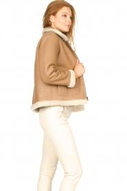 Ibana |  Lammy coat Joelle | brown  | Picture 7