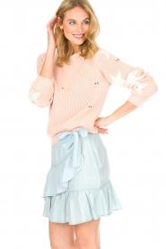 Aaiko |  Skirt Tania | blue  | Picture 4