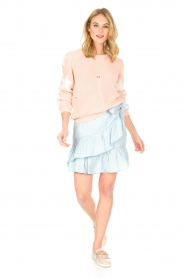 Aaiko |  Skirt Tania | blue  | Picture 3