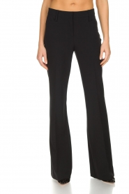 Atos Lombardini |  Classic flared trousers Solange | black  | Picture 3