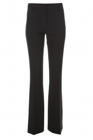 Atos Lombardini |  Classic flared trousers Solange | black  | Picture 1