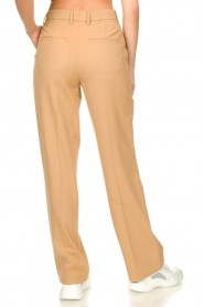 Set |  Straight trousers Trixie | camel  | Picture 6