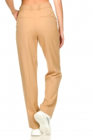 Set |  Straight trousers Trixie | camel  | Picture 7