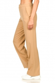 Set |  Straight trousers Trixie | camel  | Picture 5