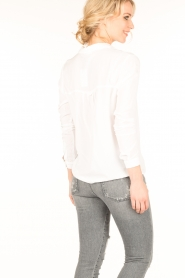 Knit-ted |  Blouse Mandy | white  | Picture 5