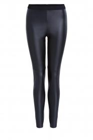 Set |  Faux leather leggings Nadja | black  | Picture 1