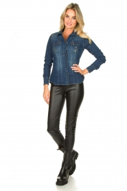 Set |  Faux leather leggings Nadja | black  | Picture 2