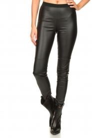 Set |  Faux leather leggings Nadja | black  | Picture 4