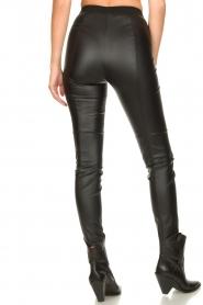 Set |  Faux leather leggings Nadja | black  | Picture 6