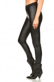 Set |  Faux leather leggings Nadja | black  | Picture 5