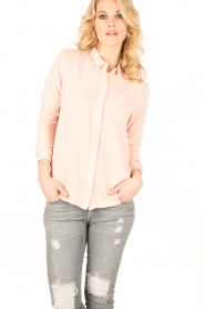 Knit-ted | Blouse Mandy | oudroze  | Afbeelding 2