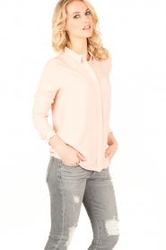 Knit-ted | Blouse Mandy | oudroze  | Afbeelding 4